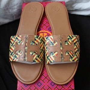 TORY BURCH Ines Slide Sandal *Size 9.5